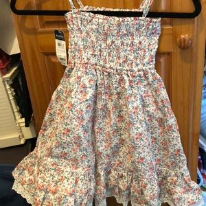 Girls flower sun dress